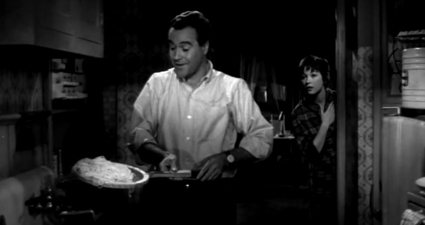 The Apartment spaghetti scene: food photography in movies