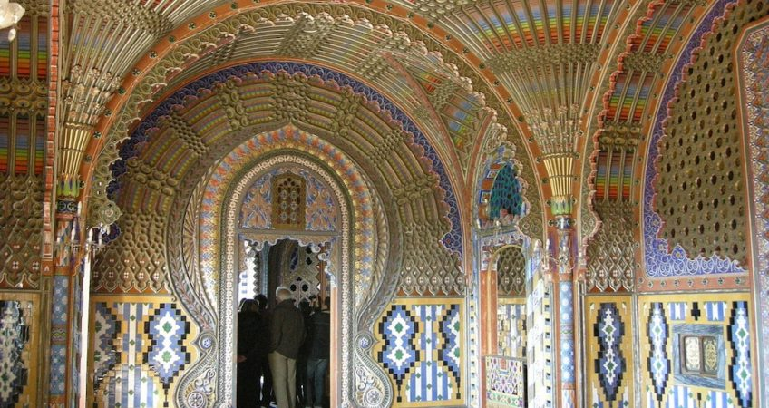 Castle of Sammezzano one of the many Tuscan film locations